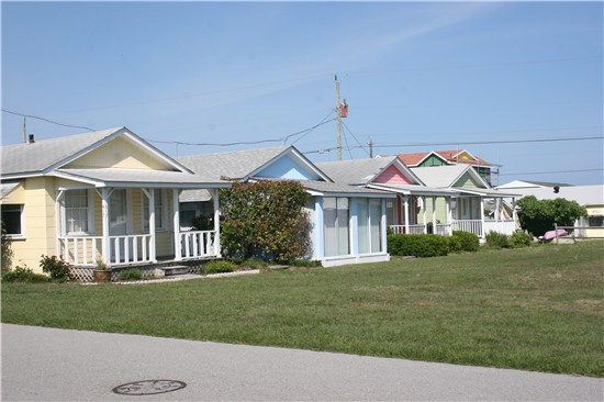 Cottages in Kure Beach