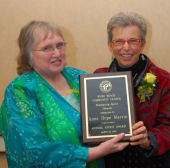 Annual Award recipient Anne Hope Marvin