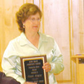 Annual Award recipient Diane Heglar