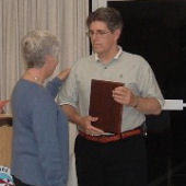 Annual Award recipient Thomas Russell